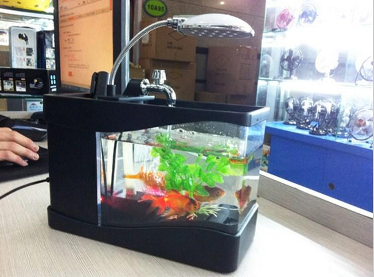 Bể cá mini - Bể cá để bàn làm việc - 2