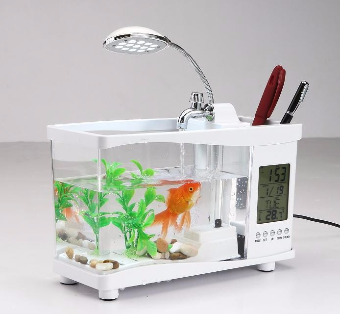 bể cá mini usb